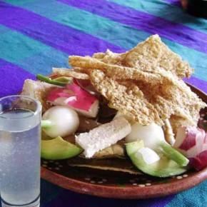 Pozole, mescal & botanas (appetizers)
