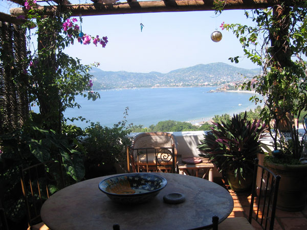 View from Casa El Capricho, Zihuatanejo