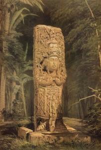 Idol at Copán
