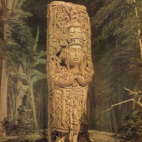 Idol at Copán