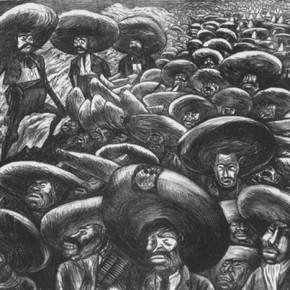 Jose Clemente Orozco, Zapataistas, lithograph, 1935