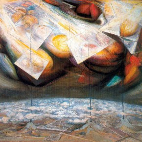 David Alfaro Siqueiros (Mexico, 1896-1974) Antenas estratosféricas / Stratospheric Antennas, 1949