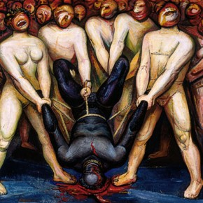 David Alfaro Siqueiros, Cain en los Estados Unidos / Cain in the United States, 1947
