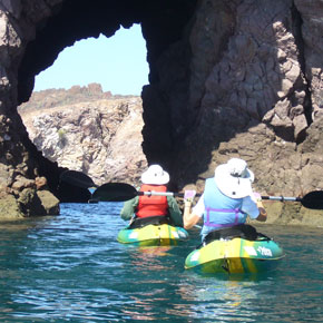 Kayaking San Carlos in Sonora, Mexico