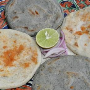 Gorditas (stuffed tortillas).