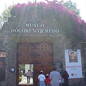 Entrance to the Museo Dolores Olmedo