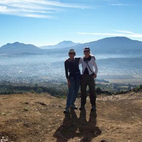 Climbing Cerro del Estribo