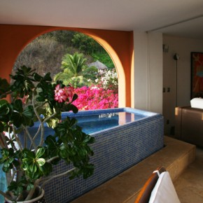 Covered Plunge Pool, Photo by Marc Pouliot