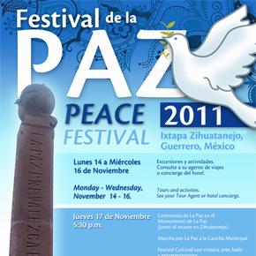 Ixtapa-Zihuatanejo Peace Festival, November 14-17 2011