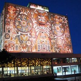 Mosaic Murals of the UNAM Central Library