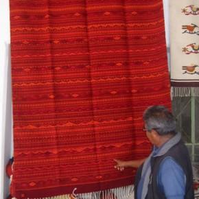 Cochineal Carpet, Oaxaca