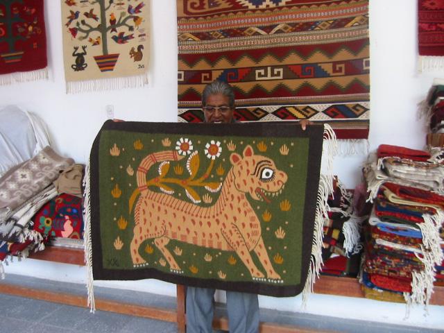 Magic Carpets Oaxaca S Master Weaver Preserves A Zapotec