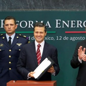 Mexico´s president proposes Energy Reform amid debate about privatization of Mexico´s petroleum industry