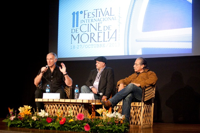 John Sayles, Alejandro Springall, Edward James Olmos.