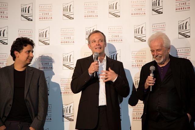 Xavier Guerrero, Brontis Jodorowsky, Alejandro Jodorowsky