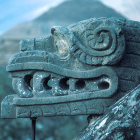 Quetzalcoatl - The Feathered Serpent God of the Aztecs