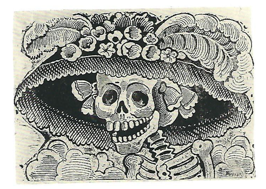Jose Guadalupe Posada, Calavera of a female dandy